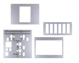 Eloxált alumínium beépítő keret, overlay