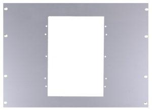 Eloxált alumínium beépítő keret